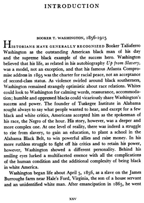 booker essay harlan in louis perspective r t washington Booker t washington in perspective: essays of louis r harlan - kindle edition by raymond smock download it once and read it on your kindle device, pc, phones or.