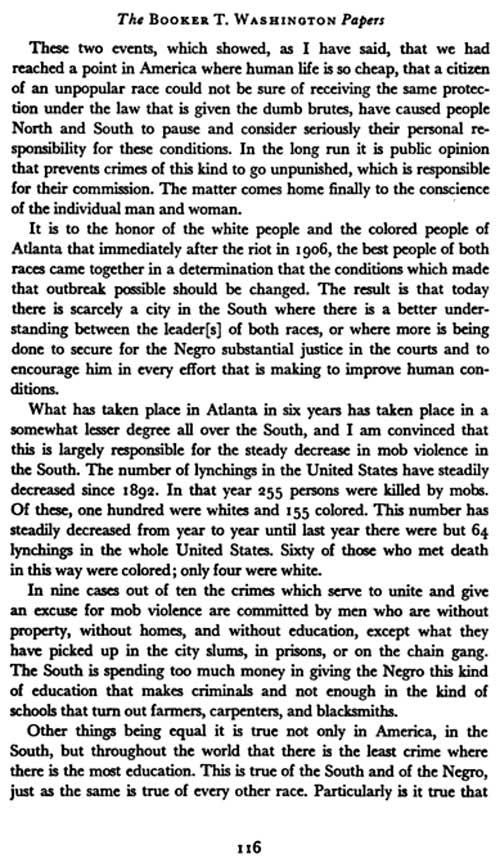 Booker T. Washington Letters